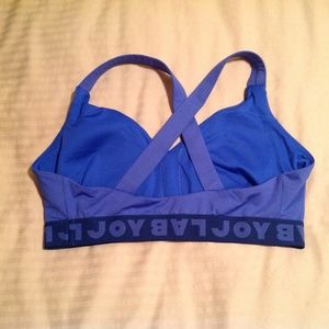Lab Joy Tops - Lab Joy Sports Bra Blue Size XXL EUC